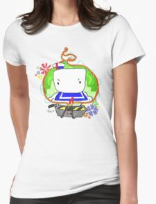 Marshmallow Trap Womens Fitted T-Shirt