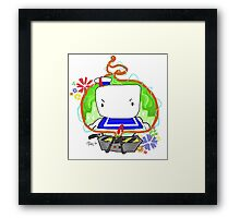 Marshmallow Trap Framed Print