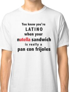 Funny Mexican Design: pan con frijoles Classic T-Shirt