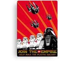 Star Wars Propaganda Poster (Soviet style) Canvas Print