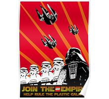 Star Wars Propaganda Poster (Soviet style) Poster