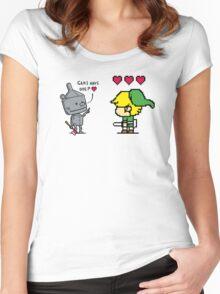 Heart Seeker Women's Fitted Scoop T-Shirt