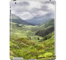 """Glen Croe from """"Rest and be thankful"""", Scotland iPad Case/Skin"""