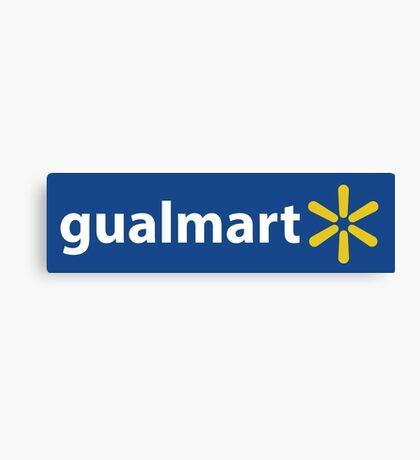 gualmart funny latino pronunciation Canvas Print