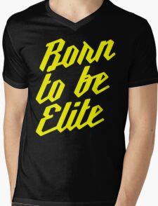 Born to be Elite Mens V-Neck T-Shirt