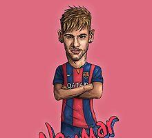 Neymar-Barcelona by Ben Farr