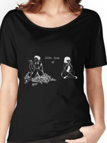 With Love Women's Relaxed Fit T-Shirt