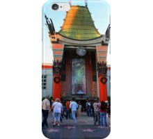 Mann's Chinese Theatre In the Sunset Glow, Hollywood California iPhone Case/Skin