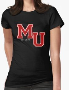 Mars 2030 - The Univeristy of Mars Womens Fitted T-Shirt