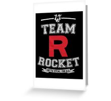 Team Rocket - Limited Edition Greeting Card