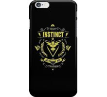 Team Instinct - Limited Edition iPhone Case/Skin