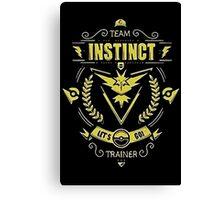 Team Instinct - Limited Edition Canvas Print