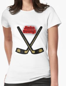 Jimbo Strong Womens Fitted T-Shirt