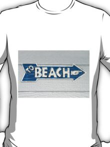 To Beach T-Shirt