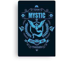 Team Mystic - Limited Edition Canvas Print