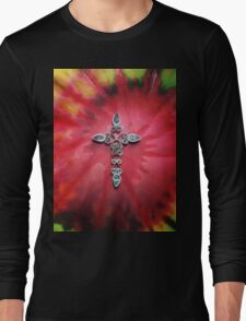 Psychedelic Cross Long Sleeve T-Shirt