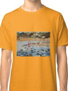 Mornington Beach (Watercolour) Victoria Australia Classic T-Shirt