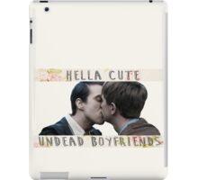 Kieren x Simon - undead boyfriends iPad Case/Skin