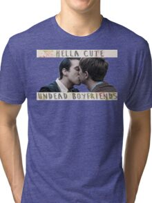Kieren x Simon - undead boyfriends Tri-blend T-Shirt
