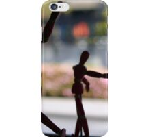 Wooden Puppet iPhone Case/Skin