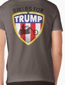 Bikers For Trump Mens V-Neck T-Shirt