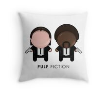 Pulp Fiction // Jules and Vincent Throw Pillow