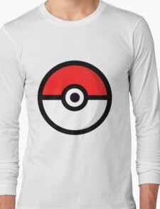 Pokemon Poke Ball Long Sleeve T-Shirt
