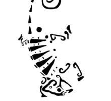 Murderized Lizard Tattoo Sticker