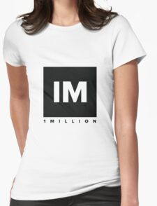 1 million dance studio Womens Fitted T-Shirt