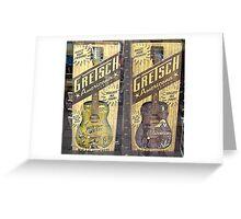 gretsch guitars Greeting Card