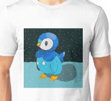 Piplup in the snow Unisex T-Shirt