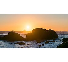 One-Eyed Willie's Pirate Ship - Ecola State Park, Oregon Photographic Print