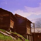 Mountain Huts by Charmiene Maxwell-batten