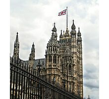 Behind the House of Parliament Photographic Print