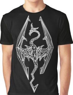 80's Cyber Imperial Elder Scrolls Logo Graphic T-Shirt