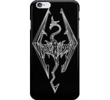 80's Cyber Imperial Elder Scrolls Logo iPhone Case/Skin