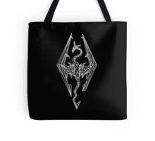 80's Cyber Imperial Elder Scrolls Logo Tote Bag