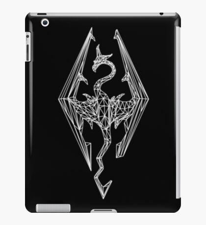 80's Cyber Imperial Elder Scrolls Logo iPad Case/Skin