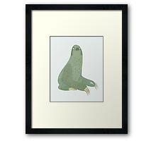 A Sloth Framed Print