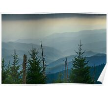 The Great Smoky Mountains, Tennessee. Poster