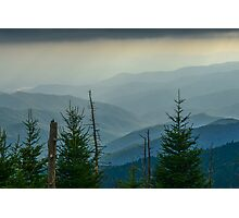 The Great Smoky Mountains, Tennessee. Photographic Print