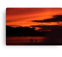 Point Park Sunset Canvas Print