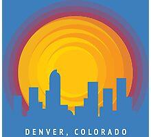 Denver Rays Photographic Print