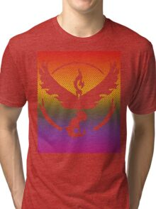 Team Valor Word Pride Pattern Tri-blend T-Shirt