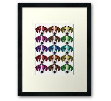 Colorful FrankerZ Framed Print