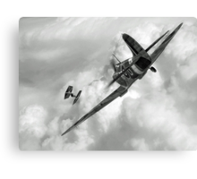 Spitfire VS Tie Fighter Canvas Print
