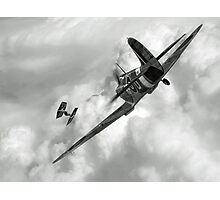 Spitfire VS Tie Fighter Photographic Print