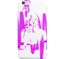 Mercurial 80's punk design iPhone Case/Skin