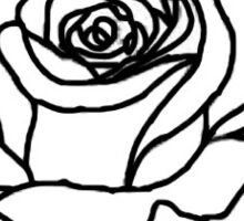 Murderized Rose Tattoo Sticker