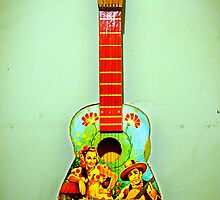 toy guitar by kathy archbold